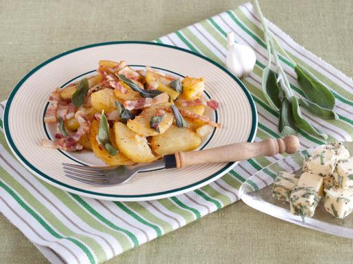Рецепт Картошка с шалфеем и ароматным маслом