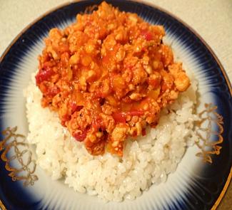 Рецепт Рис с болонским соусом