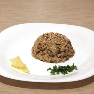 Рецепт Рис с курочкой и ананасом