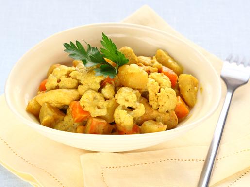 Рецепт Куриные бедрышки с овощным рагу
