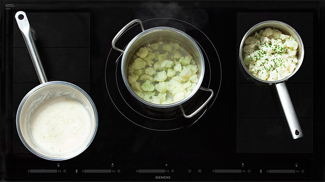 Рецепт Цветная капуста под соусом морне