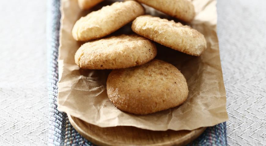 Рецепт Рассыпчатое печенье с корицей