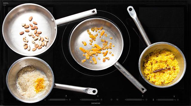 Рецепт Рис с сухофруктами и орехами по-арабски
