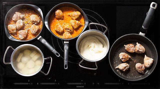 Рецепт Паприкаш с картофельным пюре