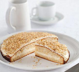 Рецепт Торт из черемуховой муки с черным хлебом