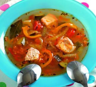 Рецепт Рыбный суп-рагу