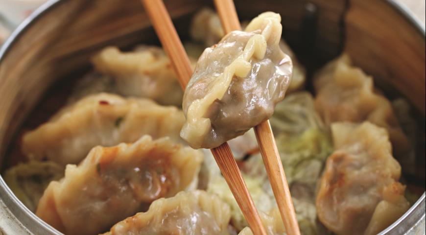 Рецепт Дим-самы со свининой и креветками
