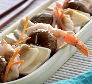 Рецепт Морепродукты с тофу