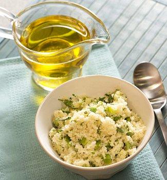 Рецепт Кускус с зелёными овощами