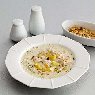Рецепт Куриный суп с миндалем в мультиварке