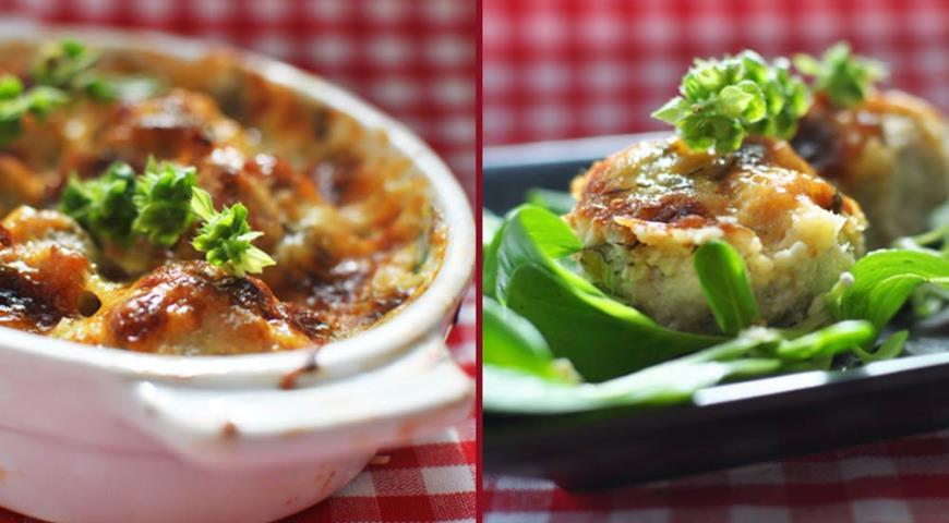 Рецепт Куриные шарики в сливочно-сырном соусе