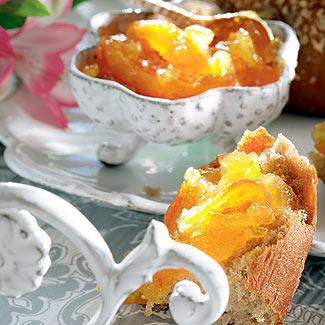 Рецепт Конфитюр из апельсинов (для гренок и тостов)
