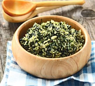 Рецепт Пилав со шпинатом