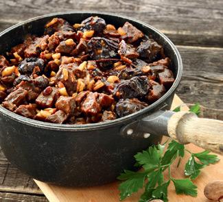 Рецепт Баранина с черносливом по-алжирски