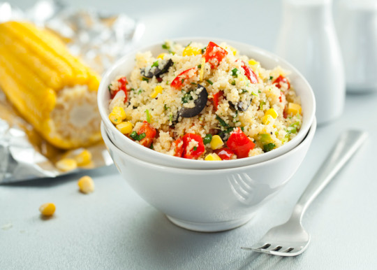 Рецепт Теплый салат с кускусом и овощами