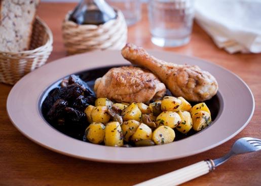 Рецепт Курица с картошкой