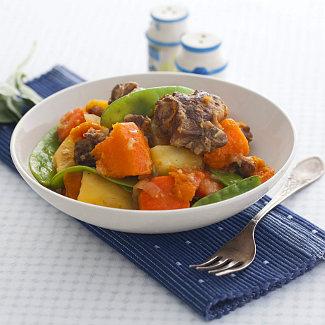 Рецепт Наварен из баранины с тыквой и морковью в мультиварке