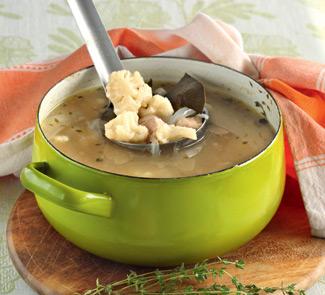 Рецепт Суп из курицы и цветной капусты