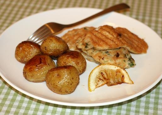 Рецепт Рыба в кляре с картофелем