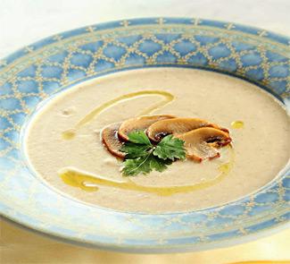 Рецепт Картофельный суп с шампиньонами
