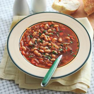 Рецепт Суп из фасоли с пряностями