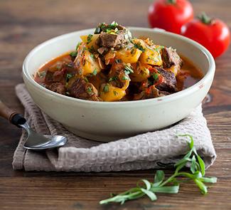 Рецепт Чахохбили из баранины с картофелем