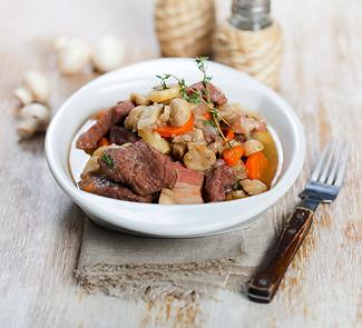 Рецепт Мясо по-бургундски