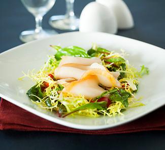 Рецепт Салат с масляной рыбой
