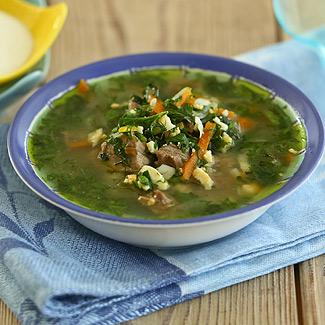 Рецепт Португальский зеленый суп в мультиварке