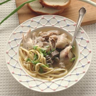 Рецепт Куриный суп по-королевски