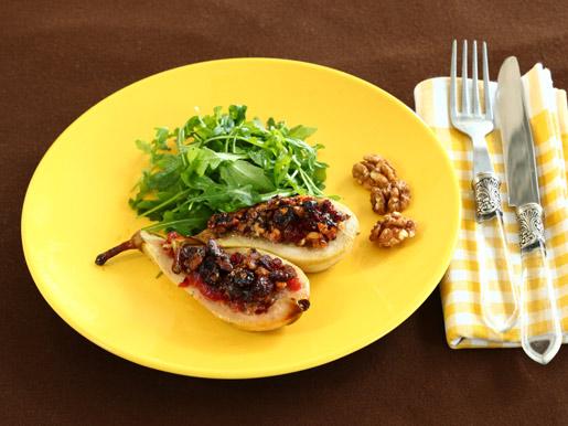 Рецепт Запеченные груши с начинкой