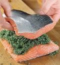 Малосольный лосось. Шаг 3