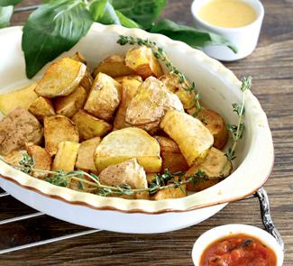 Рецепт Пататас бравас, жареный картофель с соусом
