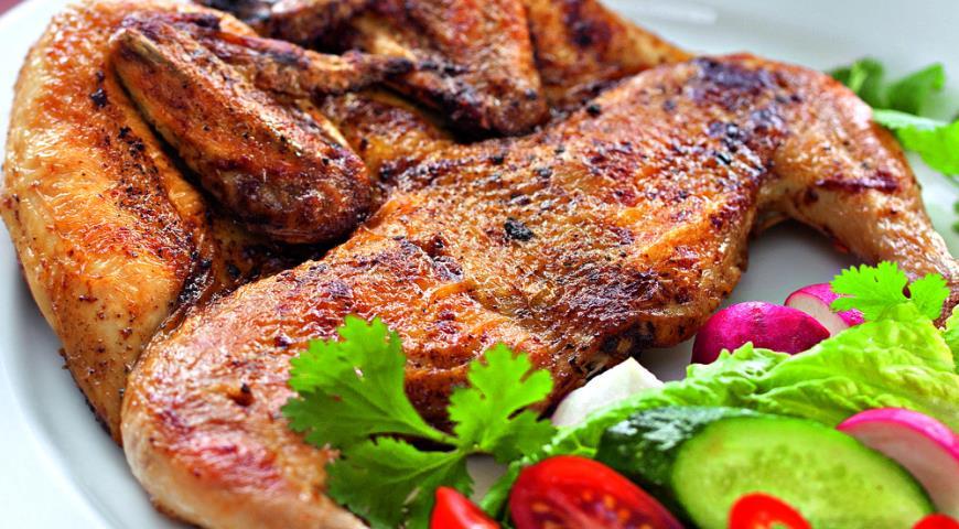 Рецепт Цыпленок табака
