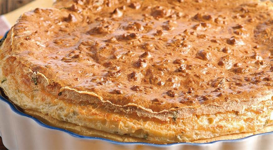 Рецепт Горячий ланкаширский пирог