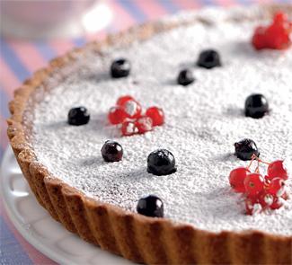 Рецепт Пирог со смородиной и красным вином