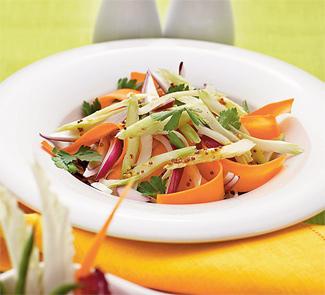 Рецепт Кол-слоу с краснокочанной капустой