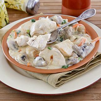 Рецепт Куриное филе с грибами в мультиварке