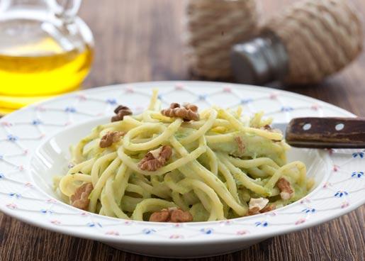 Рецепт Паста с зеленым горошком