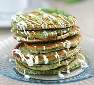 Рецепт Оладьи из зелени