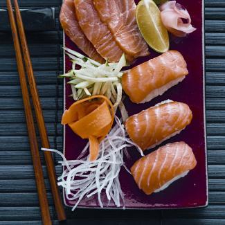 Рецепт Японские суши и сашими