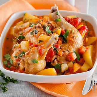 Рецепт Куриная зажарка с овощами в мультиварке