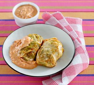 Рецепт Голубцы со сметанно-томатным соусом