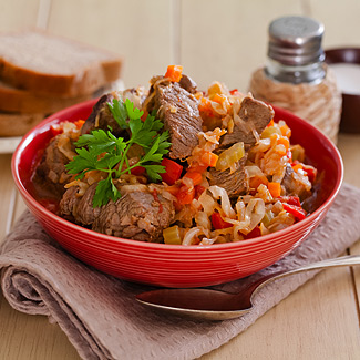 рагу мясное рецепт с фото