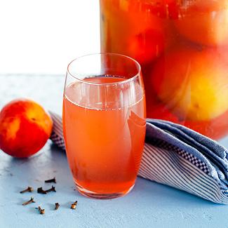 Рецепт Персики, консервированные в вине в мультиварке