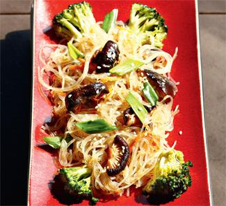 Рецепт Рисовая лапша с овощами