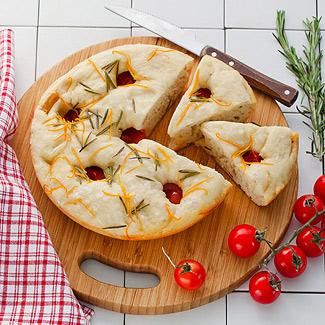 Рецепт Фокачча с помидорами черри в мультиварке