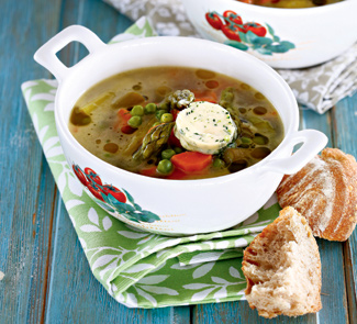 Рецепт Летний овощной суп