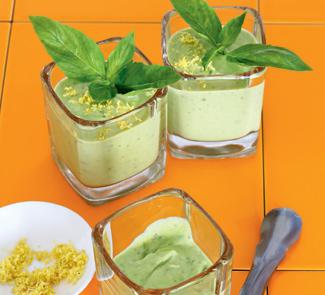 Рецепт Йогуртовый суп с авокадо