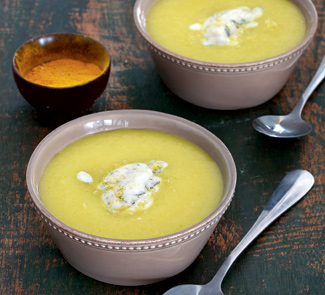 Рецепт Яблочный суп с карри